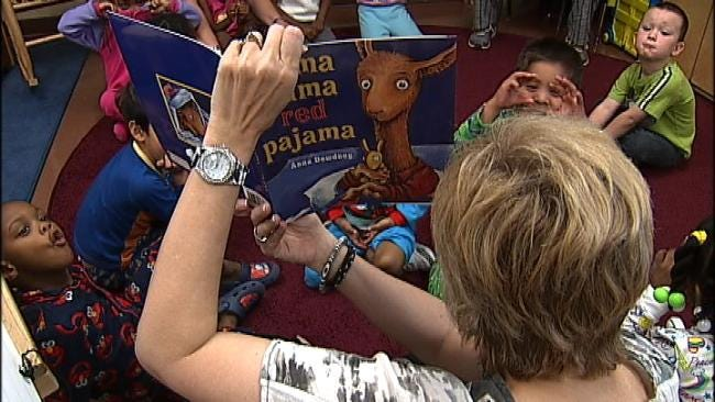 Read For The Record Has Tulsa Kids Spellbound