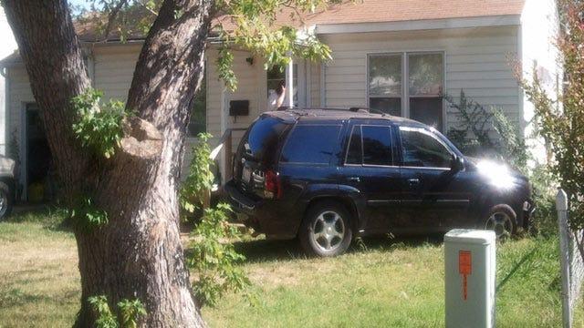 Suspect Runs Away After Crashing Into His Own Tulsa Home