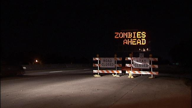 Hacked Tulsa Traffic Sign No Laughing Matter For ODOT