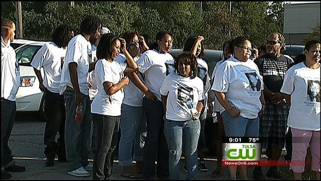Tulsa Families Rally To Demand End To Violence
