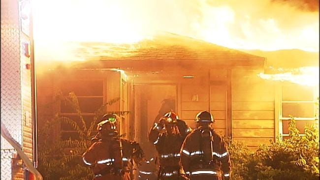 Tulsa Firefighters Called To Midtown House Fire
