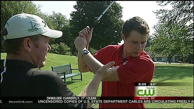 Dave Davis' First Golf Lesson