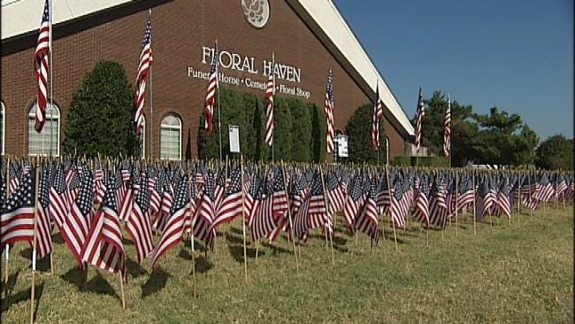 Broken Arrow Funeral Home Pauses To Remember 9/11