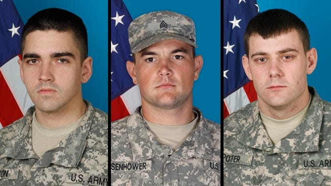 Three Oklahoma Soldiers Killed In Afghanistan