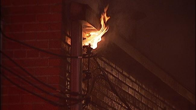 Arsonist Blamed For Tulsa Building Fire