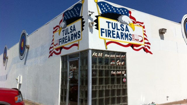 ATF Offers Reward In Tulsa Gun Store Theft
