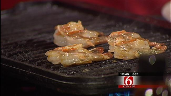 Caribbean Grilled Shrimp