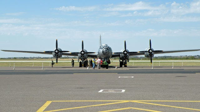 Rare B-29 Bomber Makes Visit To Stillwater
