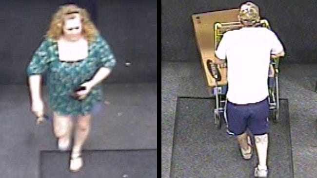 Rogers County Sheriff Seeks Persons Of Interest In Credit Card Theft