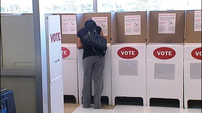 Voter ID Law Causes Few Problems In Tulsa Primary Election