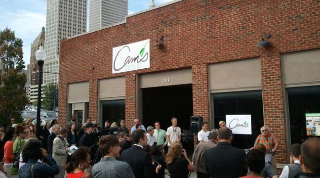 Cam's Grocery Breaks Ground In Tulsa's Blue Dome District