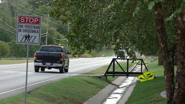 Parents' Concern Prompts Jenks To Move School Bus Stop