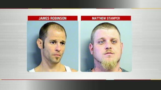 Metal Thieves Strike Tulsa Landmark