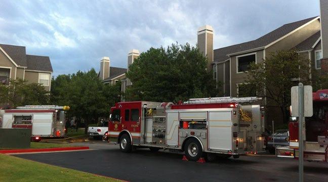 Tulsa Apartment Fire Starts On Balcony