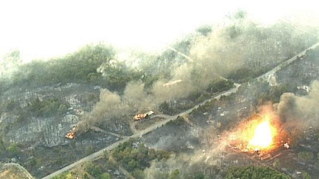 Fire Ravaged Terlton Now Facing Water Problems