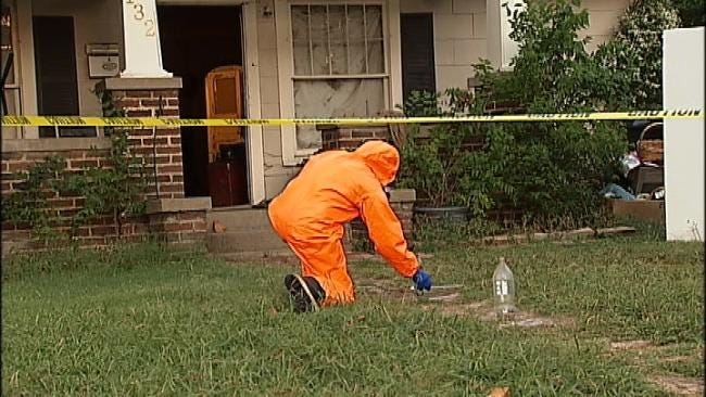 Deputies Make An Arrest In Tulsa Meth Lab Bust