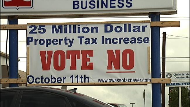 Owasso $25 Million Tax Proposal Draws Supporters, Skeptics