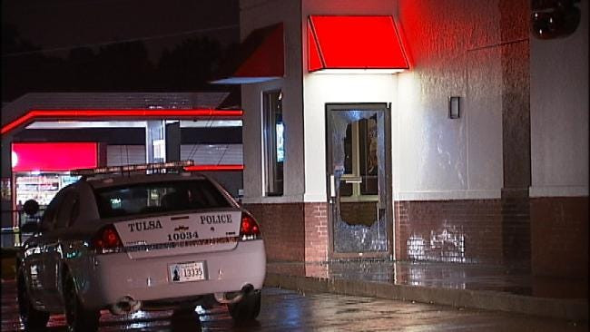 Tulsa Police Say Body Found On Turnpike May Be Connected To Arby's Vandalism
