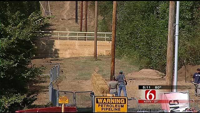 Athletes Push Their Limits In Oklahoma Warrior Dash