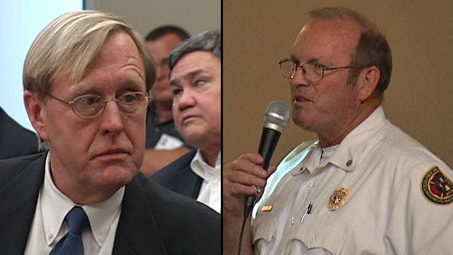 Favoritism Allegations Lead To Suspension Of Tulsa Fire Chief, Bartlett's Chief Of Staff