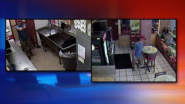 Tulsa Police Search For Subway Robbery Suspect
