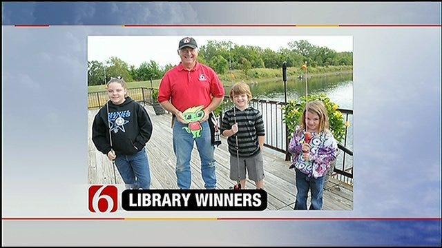 Meteorologist Sponsors Fishing Trip For Reading Winners