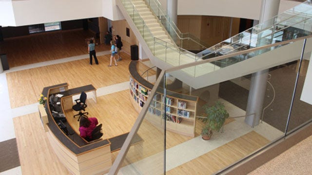 New Library Dedicated Monday On OU-Tulsa Campus