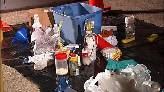 Three Arrested In South Tulsa Condominium Meth Bust