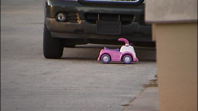 Tulsa Police: Three-Year-Old Girl Dies After Being Struck By Car