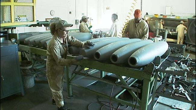 McAlester Ammunitions Plant Develops A Safer Bomb