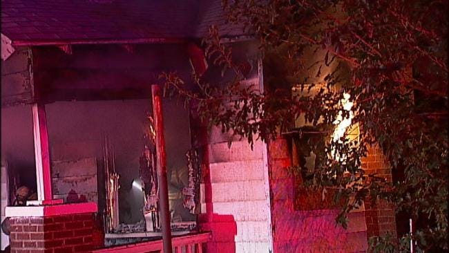 String of Arsons Continues In North Tulsa