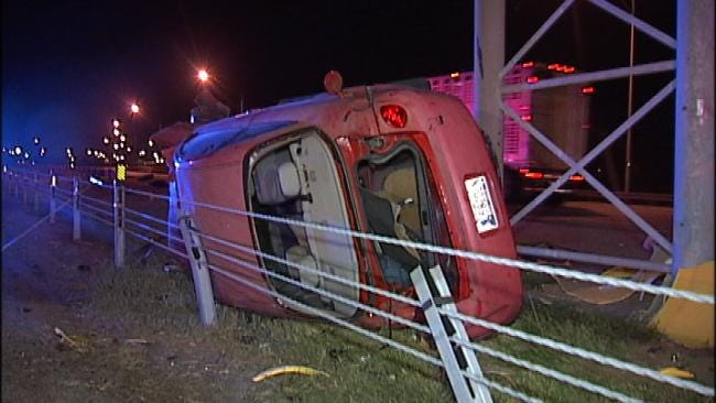 Suspicion Of DUI At Two Tulsa Crashes Sends Two To Jail