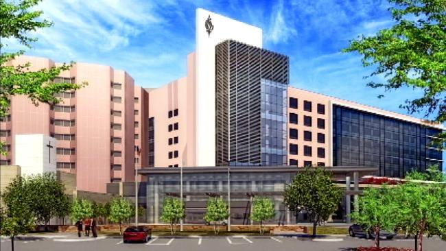 Tulsa Hospital Breaks Ground On New Tower