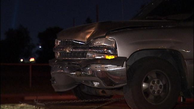 Tulsa Driver Hits Two Motorcyclists In Injury Hit And Run