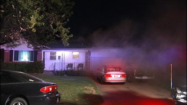 Tulsa Family's Home Damaged By Fire