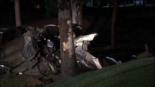 Driver Killed In Broken Arrow When Pickup Hits Tree