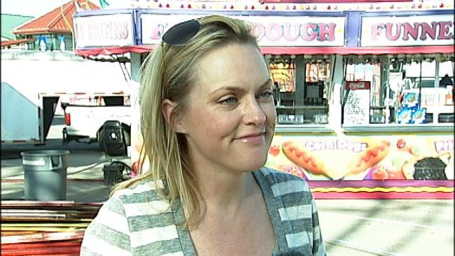 TV Actress Promotes Her Animal Rescue Group At Tulsa State Fair
