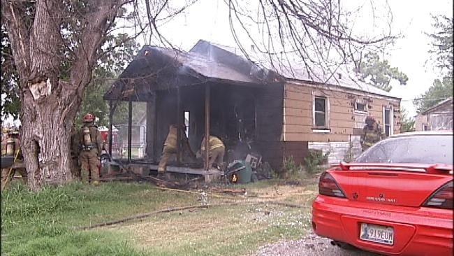 Tulsa Family Escapes From Burning House