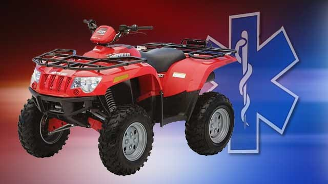 Wewoka Man Wrecks ATV Riding On River Bed