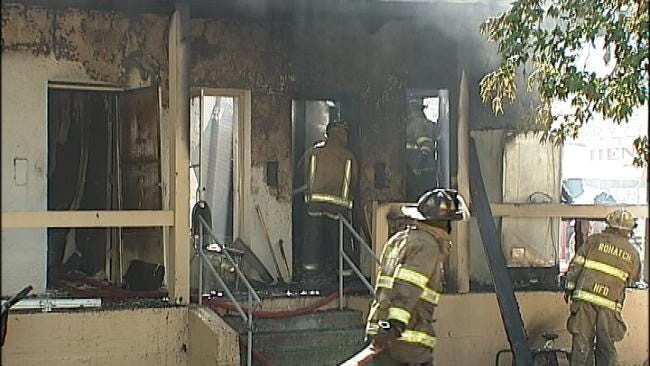Henryetta Apartment Fire Leaves 19 Families Homeless