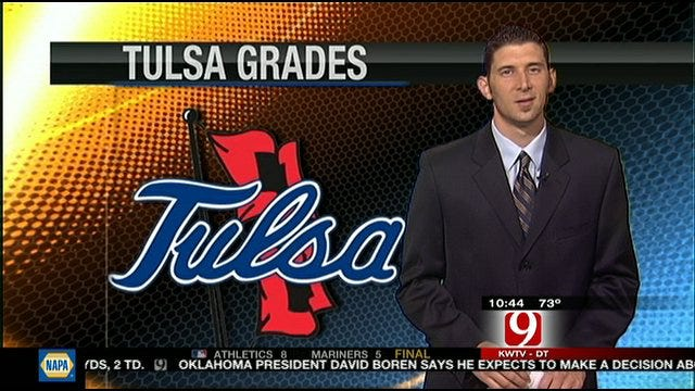 Tulsa Report Card For Season Opener