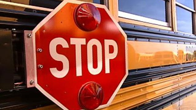 Pickup Truck Collides With Mannford School Bus, No Injuries