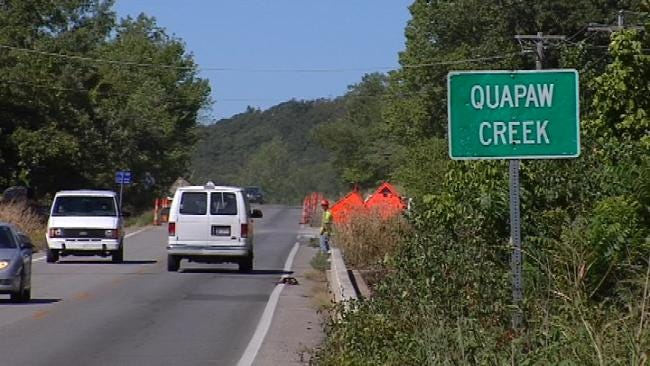 Road Work Begins On Osage County Highway