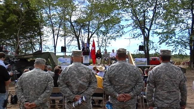 Volunteers Build Thunderbird Chapel For Return Of Oklahoma's 45th Infantry
