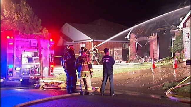 Suspicious Fires Destroy Broken Arrow Vacant Home