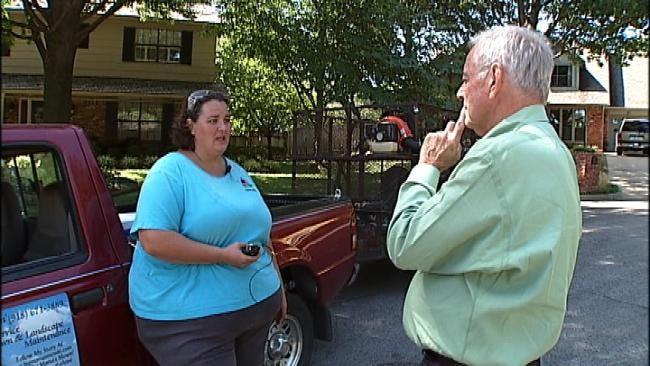 Tulsa's 'Big Mama' Keeps On Mowing Despite Setback