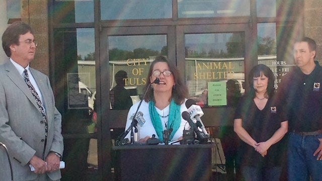 Tulsa's Humane Society Partners With City To Reduce Shelter Kill Rate