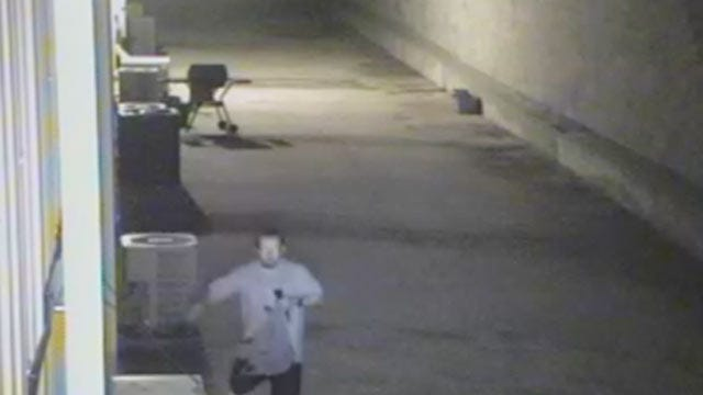 Would-Be Tulsa Copper Thief Caught On Tape