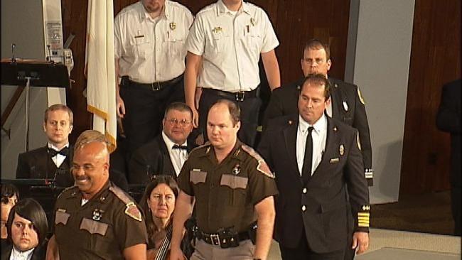 Tulsa's ORU Pays Tribute To 9/11 Responders