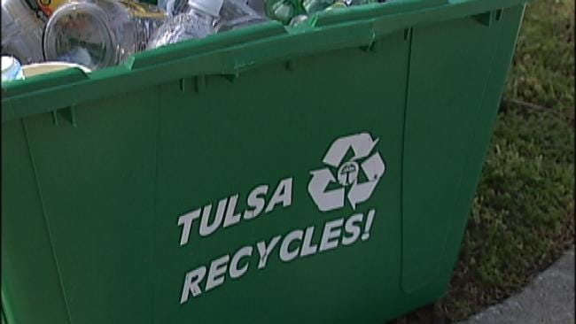 As Residents Get New Recycling Bins, Tulsa MET Wants Old Ones